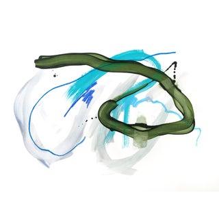 """Sprinkler"" Original Contemporary Painting For Sale"