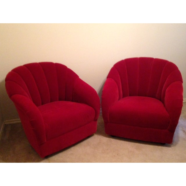 Brickel Ward Bennett Channel Back Chairs - A Pair - Image 2 of 5