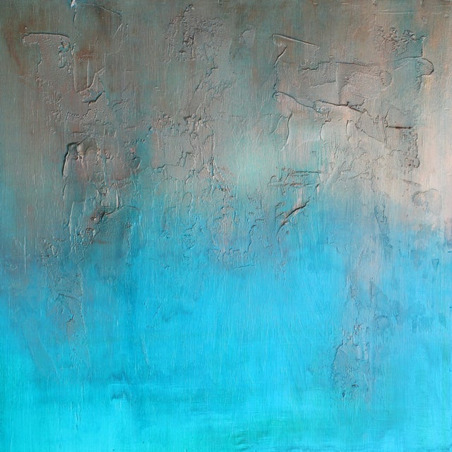 """""""Bronzed Earth"""" Original Abstract Painting - Image 1 of 3"""