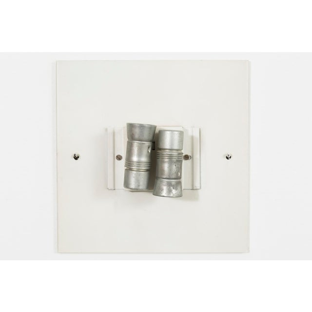 1960s Charlotte Perriand Square Sconce Lights - Set of 7 For Sale - Image 5 of 7