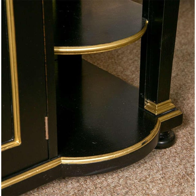 French Empire Style Ebonized Server by Jansen For Sale In New York - Image 6 of 8