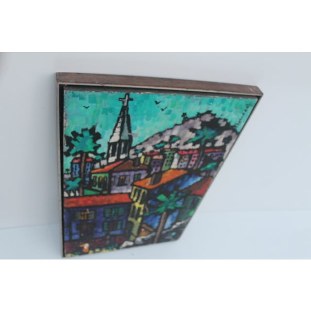 Cityscape Abstract Painting by Feomanol - Image 10 of 11
