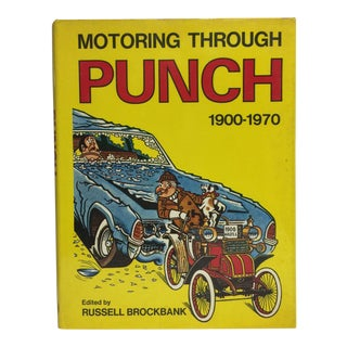 Motoring Through Punch 1900-1970 Book For Sale