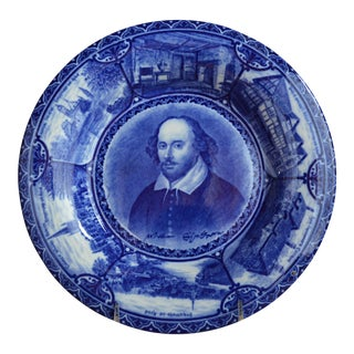 Rowland & Marsellus Staffordshire Historical Shakespeare Plate For Sale