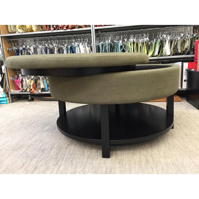 Storage Coffee Table With Tray: Belham Living Dalton Coffee Table Storage Ottoman With