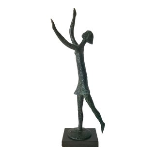 Bronze Sculpture by Conceicao For Sale