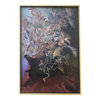 1969 Oil Painting by Paul Schlafly, Framed For Sale