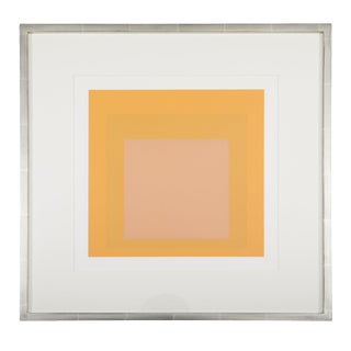 Josef Albers Homage to the Square From Formations: Articulation 1972. Silkscreen Prints, Folio I Folders 15. For Sale