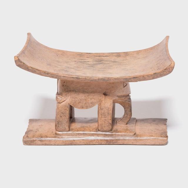 Ashanti Elephant Stool For Sale - Image 4 of 7
