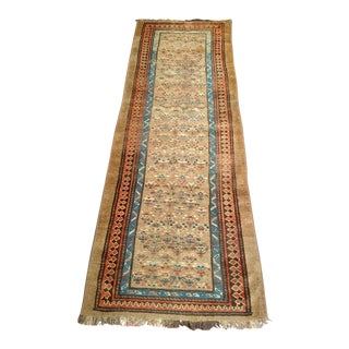 Kurdish Camelhair Runner - 3′2″ × 8′9″