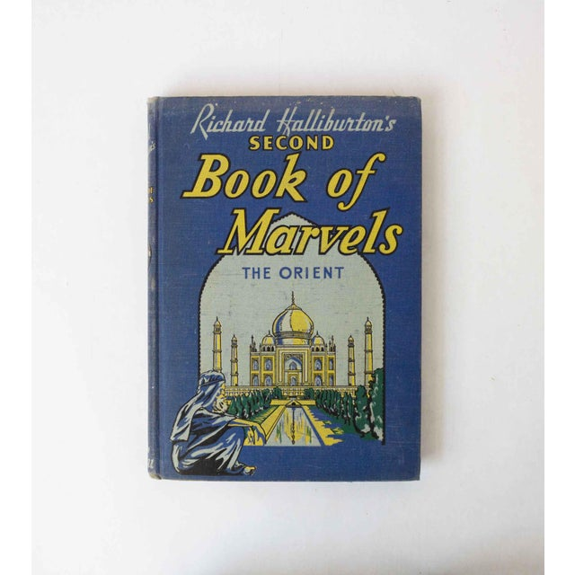 Second Book of Marvels: The Orient, Vintage School Book For Sale - Image 10 of 10