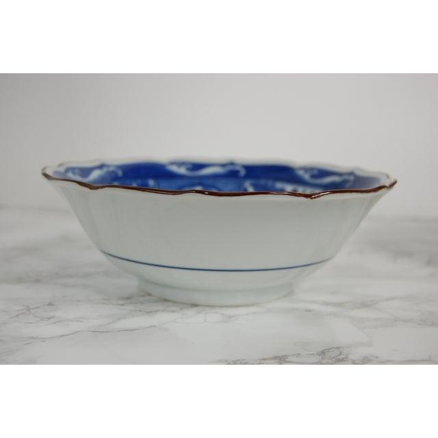 Blue & White Japanese Bowls - Set of 4 - Image 4 of 7