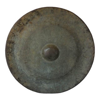 19th Century Bronze Japanese Temple Gong For Sale