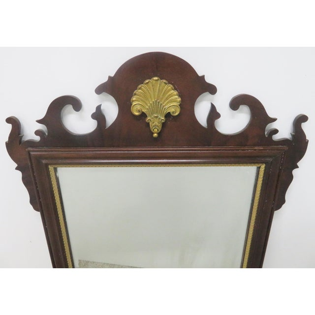 Council Furniture Chippendale Mahogany Mirror - Image 2 of 7