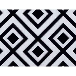 Contemporary Lee Jofa La Fiorentina in Black and White - 6 Yards For Sale
