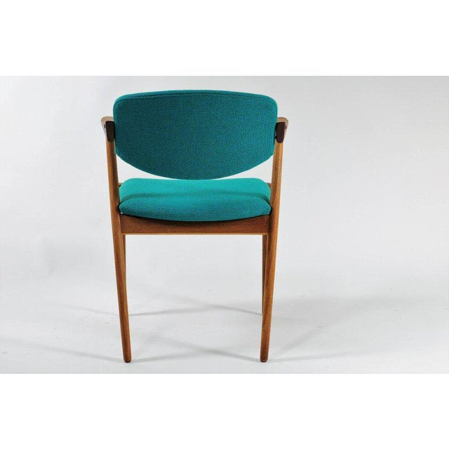 Kai Kristiansen 1960s Scandinavian Modern Kai Kristiansen Model 42 Teak Dining Chair For Sale - Image 4 of 8