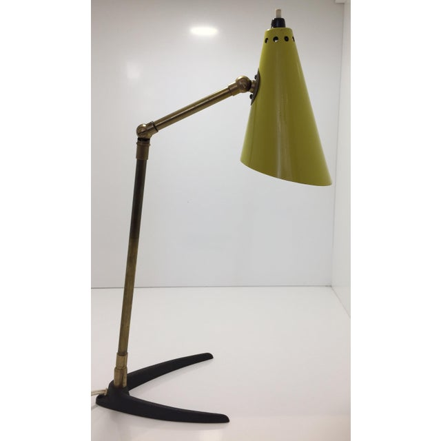 1950s Mid-Century Modern Stilnovo Table Lamp For Sale - Image 11 of 11