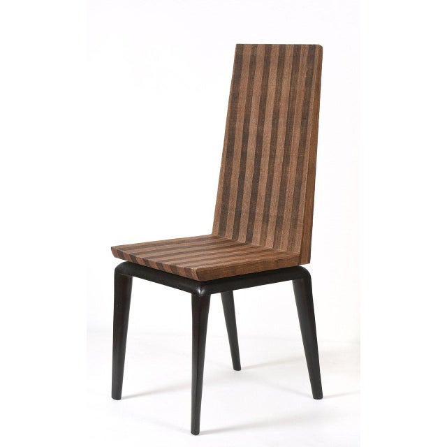 Brown Early Ria & Yiouri Augousti Occasional Chair, 1990s For Sale - Image 8 of 10