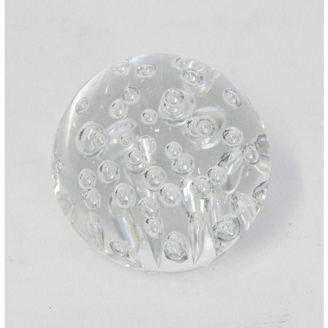 Clear Random Bubble Sphere For Sale - Image 4 of 5