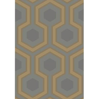 Cole & Son Hicks Grand Wallpaper Roll - Slate/Bron For Sale