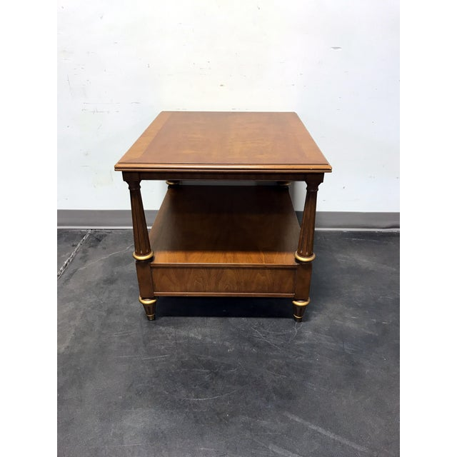 Henredon Mid Century Era Neoclassical Style Side End Table For Sale In Charlotte - Image 6 of 10