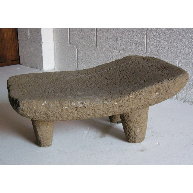 Rustic Two piece 19th Century Grinding Stone/Matate For Sale - Image 3 of 6
