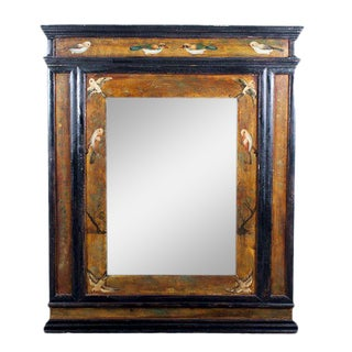 "Hand Painted Robert Grace ""Tabernacle"" Mirror"