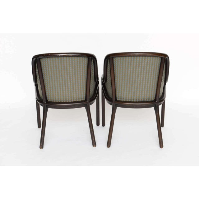 Brown Pair of Ward Bennett Chairs for Brickell 1970s For Sale - Image 8 of 10