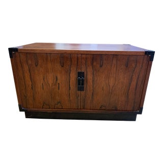 Mid-20th Century Rosewood Asian Influenced Chest For Sale