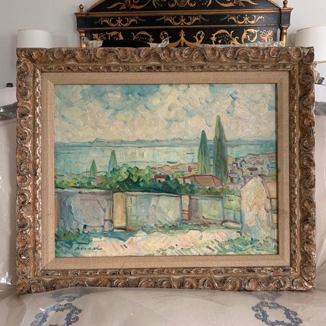 Antique Original Signed Impressionist Oil Painting For Sale - Image 10 of 10