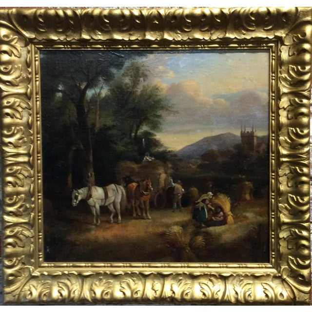 Renaissance Antique 18th Century Dutch Old Masters Oil Painting For Sale - Image 3 of 10