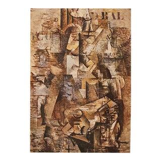 "1947 Georges Braque, Original Period ""The Portuguese"" Lithograph For Sale"
