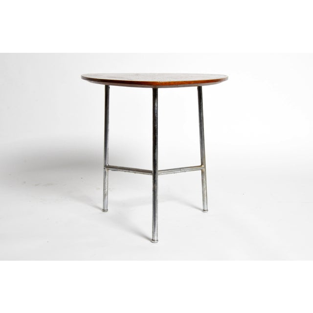 Hungarian Table with Metal Legs For Sale - Image 4 of 11