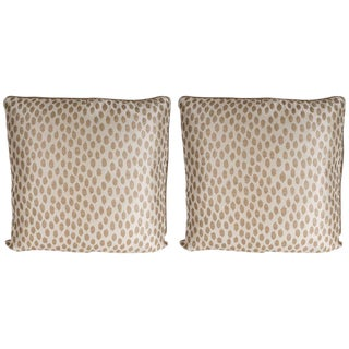 Modernist Square Pillows- a Pair For Sale