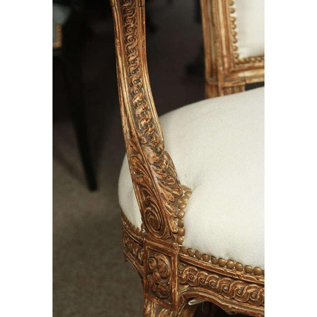 French French Armchairs by Maison Jansen - A Pair For Sale - Image 3 of 7