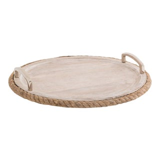 Kenneth Ludwig Chicago Rope Drinks Tray For Sale