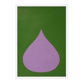 "Medium ""Fat Drop of Light Violet"" by Stephanie Henderson, 20"" X 28"""