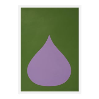 "Medium ""Fat Drop of Light Violet"" Print by Stephanie Henderson, 20"" X 28"""