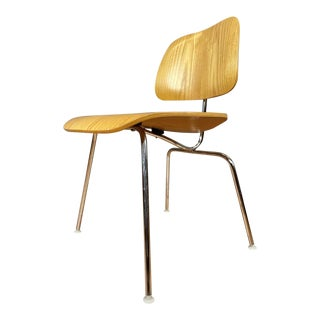 Charles and Ray Eames for Herman Miller Ash Dcm Chair 'B', 1999 For Sale