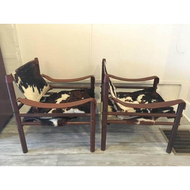 """Arne Norell """"Sirocco"""" Safari Chairs - A Pair - Image 3 of 5"""