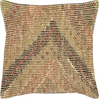 "Nalbandian - 1960s Turkish Cicim Pillow - 19"" X 19"" For Sale"