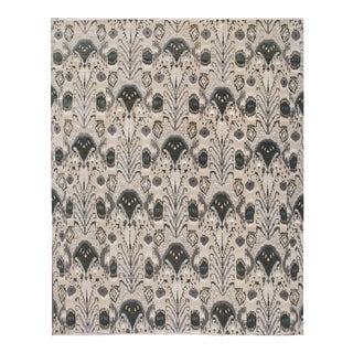 21st Century Modern Indian Wool Rug 12 X 15 For Sale