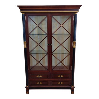Italian Style China Display Cabinet For Sale