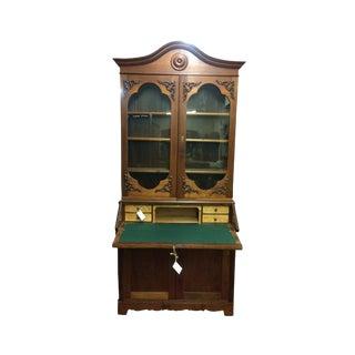 19th Century Victorian Secretary Desk For Sale