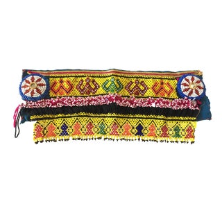 """Afghan Beaded Wall Hanging13"""" W For Sale"""