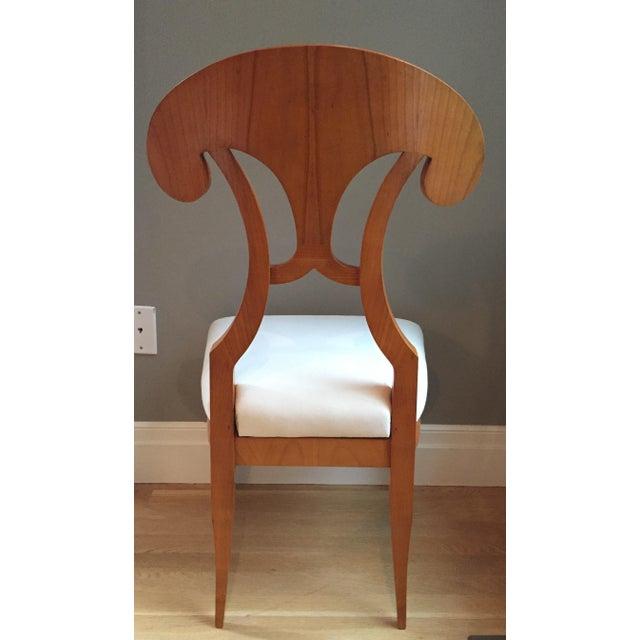 Biedermeier Dining Chairs - Set of 6 - Image 4 of 4