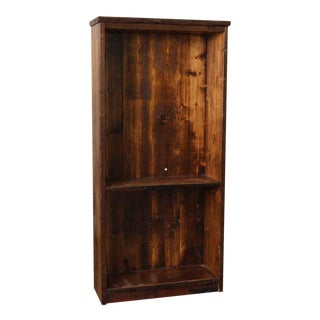 Americana Pine Wooden Bookcase