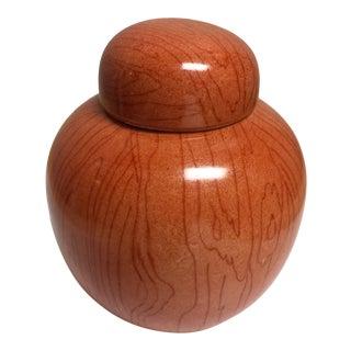 Late 20th Century Saks Fifth Avenue Lidded Jar For Sale