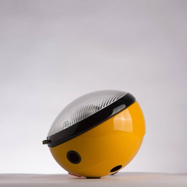 "Mid-Century Modern ""Bowling"" Table Lamp by Leonardi and Stagi for Lumenform For Sale - Image 3 of 9"