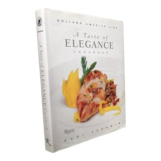 """A Taste of Elegance"" Holland America Cookbook, 2015"